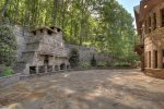 Back Yard Pizza Oven and Fireplace